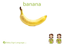 Banana Flash Card Thumbnail