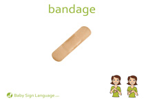 Bandage Flash Card Thumbnail