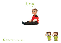 Boy Flash Card Thumbnail