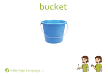 Bucket Flash Card Thumbnail