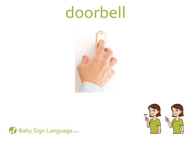 Doorbell Baby Sign Language Flash card