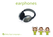 Earphones Flash Card Thumbnail