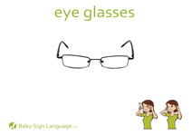 Eye Glasses Flash Card Thumbnail