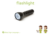 Flashlight Flash Card Thumbnail