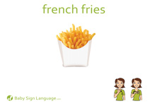 French Fries Flash Card Thumbnail