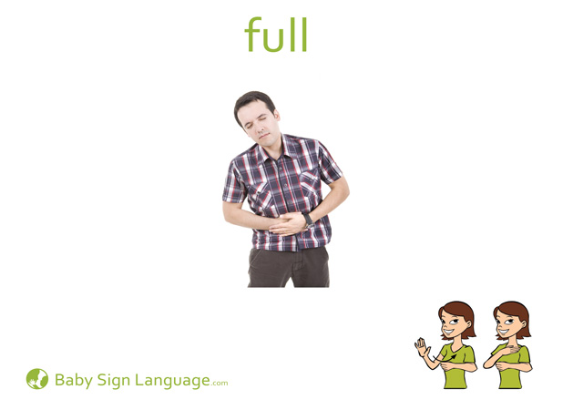 Full Baby Sign Language Flash card