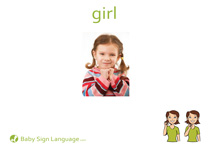 Girl Flash Card Thumbnail
