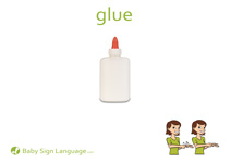 Glue Flash Card Thumbnail
