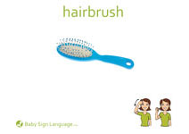 Hairbrush Flash Card Thumbnail