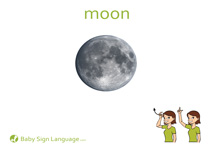 Moon Flash Card Thumbnail