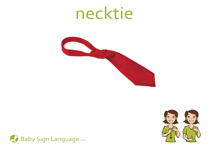 Necktie Flash Card Thumbnail