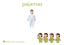 Pajamas Flash Card Thumbnail