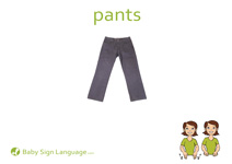 Pants Flash Card Thumbnail