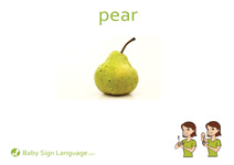 Pear Flash Card Thumbnail