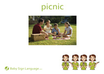 Picnic Flash Card Thumbnail