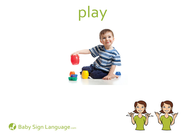 Play Baby Sign Language Flash card