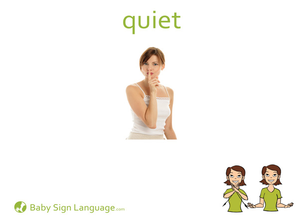 picture about Baby Sign Language Printable titled Tranquil