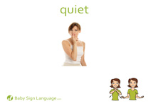 Quiet Flash Card Thumbnail