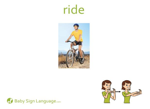 Ride - Car sign language
