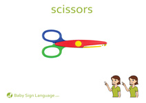 Scissors Flash Card Thumbnail
