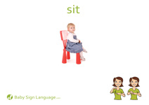 Sit Flash Card Thumbnail