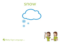 Snow Flash Card Thumbnail
