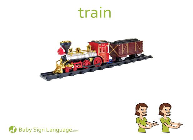 Train - Car sign language