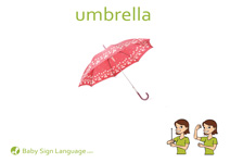 Umbrella Flash Card Thumbnail