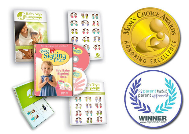 Award Winning Baby Sign Language Kit
