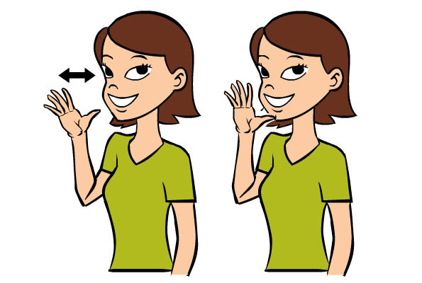Mom in Baby Sign Language