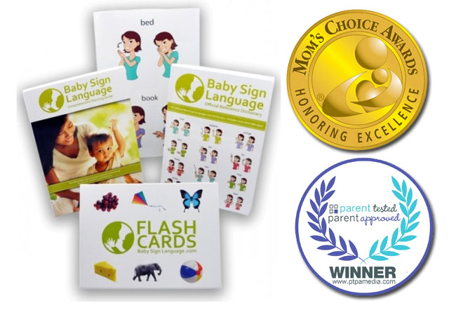 Baby Sign Language Kit Double Award Winner