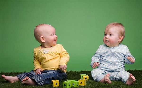 BSL helps with baby-to-baby social interactions