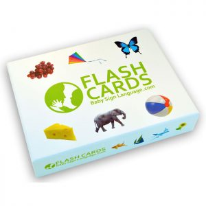 Baby Sign language Flash Cards Bxo