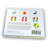 Baby Sign language Flash Cards Back