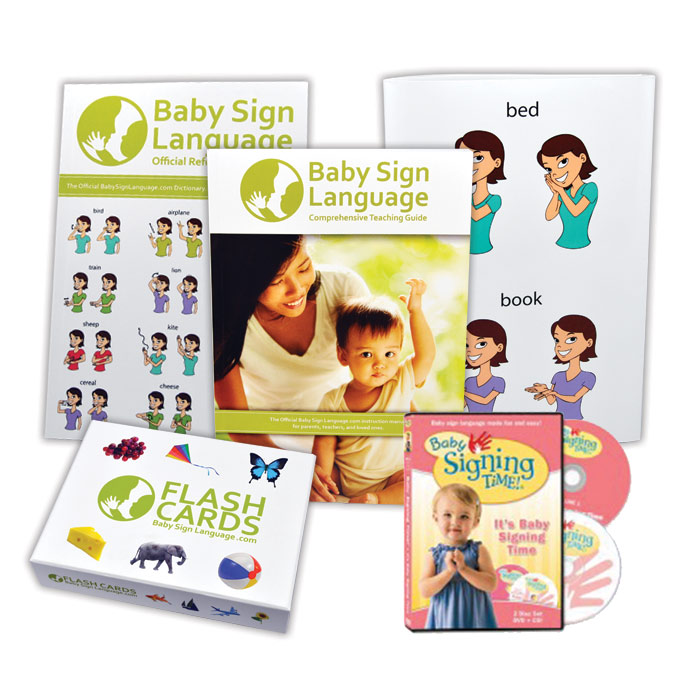 Baby Sign Language Deluxe Kit