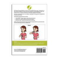 Baby Sign Language Dictionary Back Cover