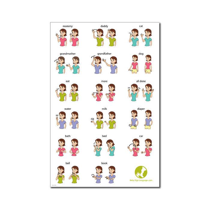 Baby Sign Language Standard Kit