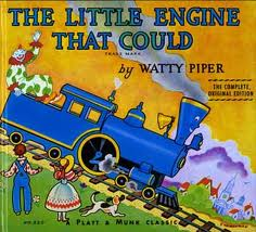 The Little Engine That Could With Signs