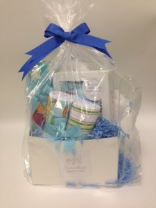 Baby Sign Language Gift Basket (front)