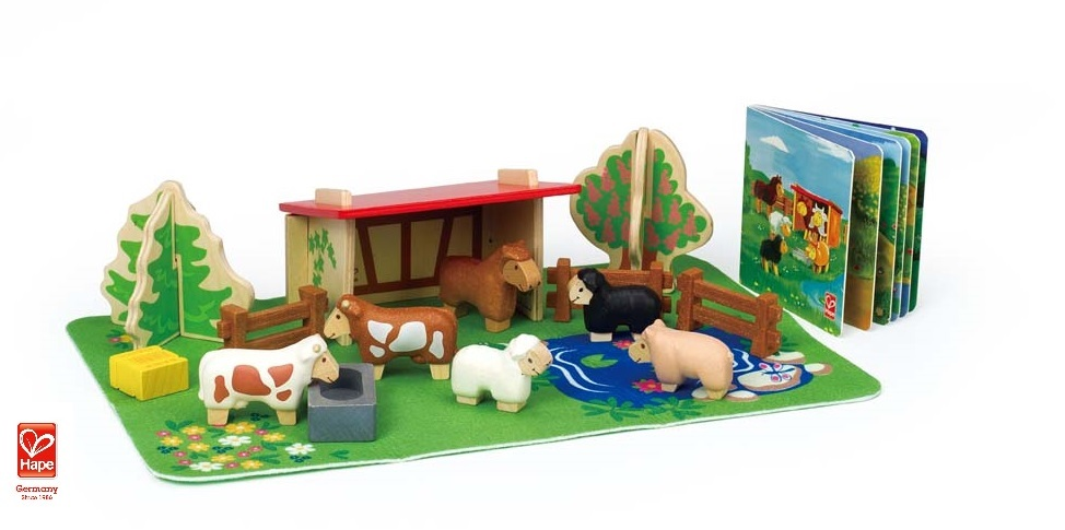 E5002 Barnyard Animals with logo