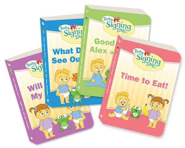 Baby Sign Language Board Books