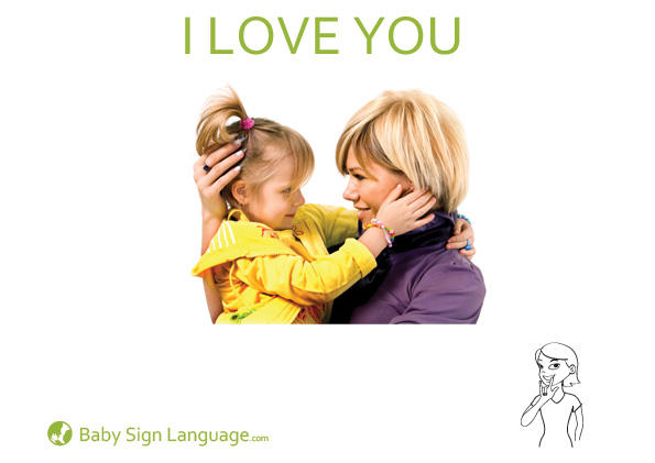 i love you baby pics. I Love You Baby Sign Language
